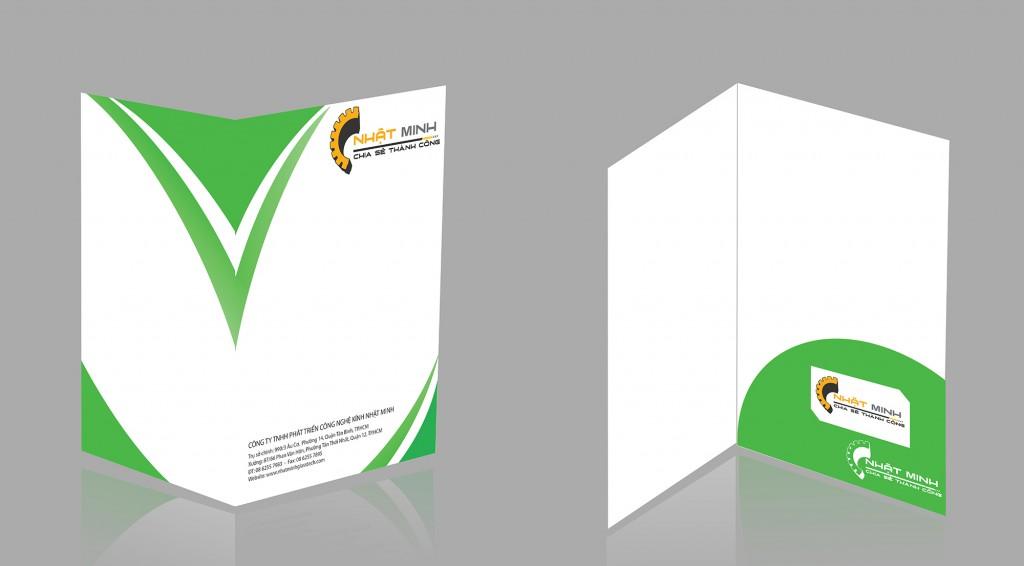 thiết kế kepk file - folder nhatạ minh glass