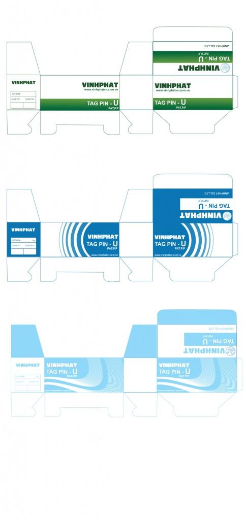 Thiết kế bao bì sản phẩm Tag Pin